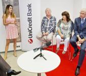 Tisková konference UniCredit Bank, RunCzech a Konta bariéry, Praha