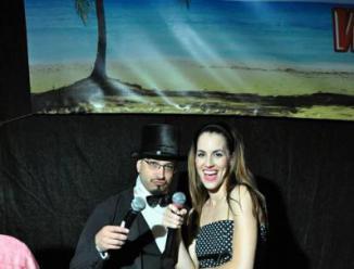 S Honzou Dvořákem moderace Fresa Dance Festivalu, Solenice